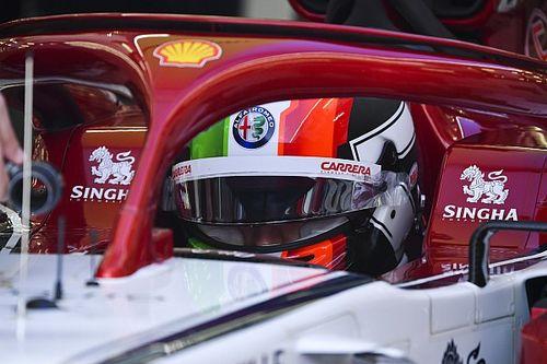 Test Pirelli: Giovinazzi con l'Alfa Romeo subito in pista temendo la pioggia
