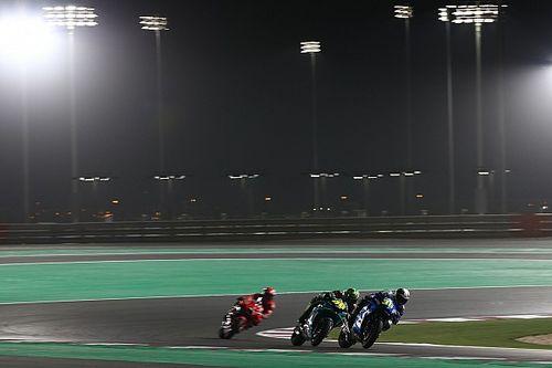 Así quedaría la parrilla de MotoGP tras el test de Qatar para la primera carrera