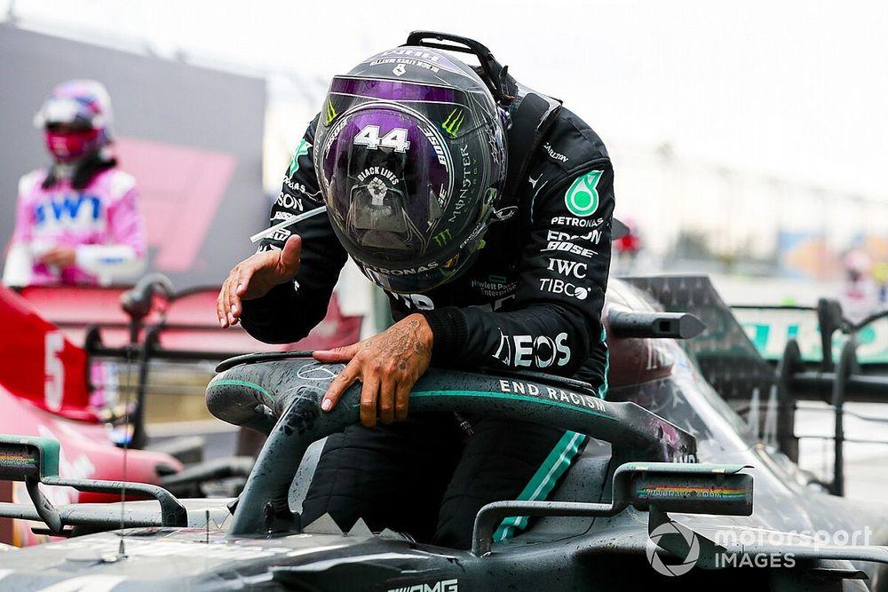 F1トルコ決勝:ハミルトン、抜群のタイヤ管理で逆転優勝。7度目の戴冠に華を添える