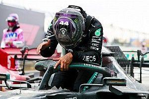 """Hamilton, siete veces campeón: """"Quiero quedarme, nos queda trabajo por hacer"""""""