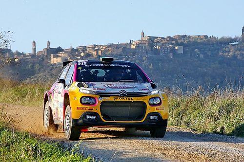 Rachele Somaschini all'ACI Rally Monza WRC con la Citroen C3 R5