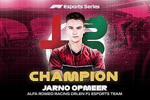 Jarno Opmeer Juara F1 Esports Pro Series 2020