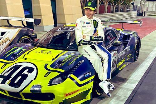 """Valentino Rossi bilanziert 12h Bahrain im GT3-Ferrari: """"Haben viel gelernt"""""""