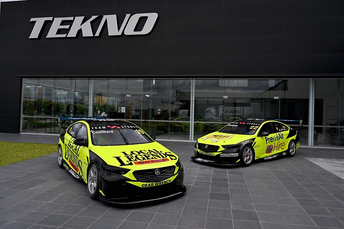 Team Sydney unveils twin fluoro liveries