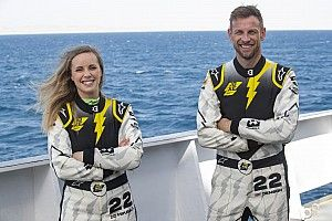Button competing in Extreme E to improve off-road racing skills