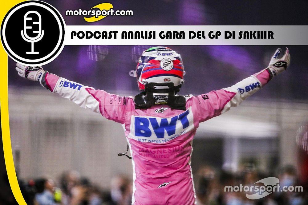 Podcast F1: analisi della gara del GP di Sakhir