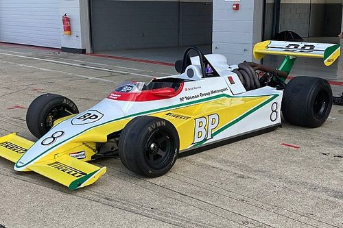 Ex-Warwick F2 Toleman set for racing return