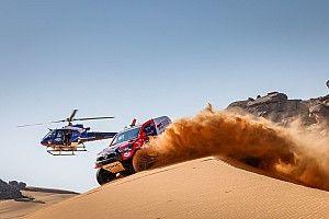 Аль-Аттия выиграл третий этап «Дакара», его соперники заблудились в пустыне