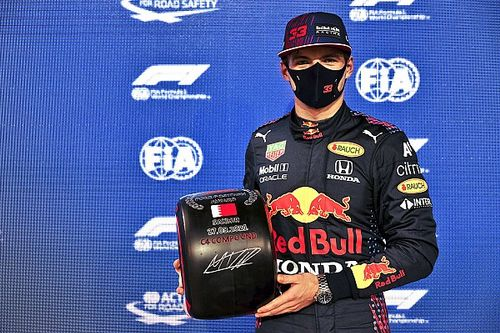 Czwarte pole position Verstappena