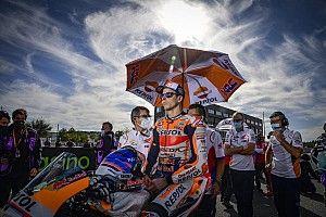 Marquez Pasang Target Realistis untuk MotoGP Valencia