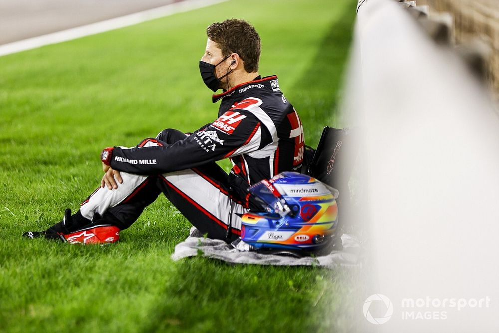 F1: Grosjean diz que continuará tratamento com psicóloga após acidente no Bahrein
