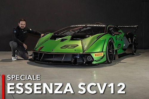 Lamborghini Essenza SCV12, la belva da 2,5 milioni vista dal vivo