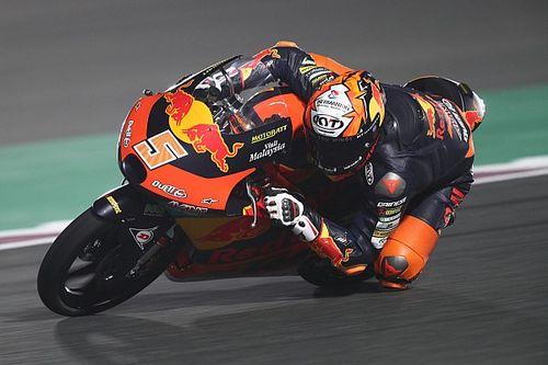 Moto3カタール決勝:佐々木歩夢、優勝争いに加わるも最終ラップで悔しい転倒。優勝はマシア