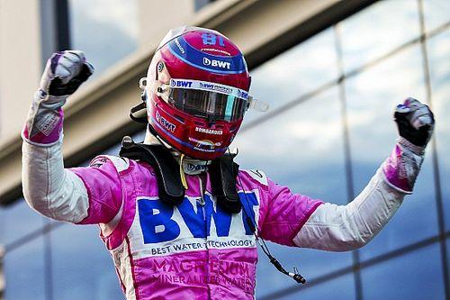 Lance Stroll logra su primera pole position en F1, Pérez en 3°