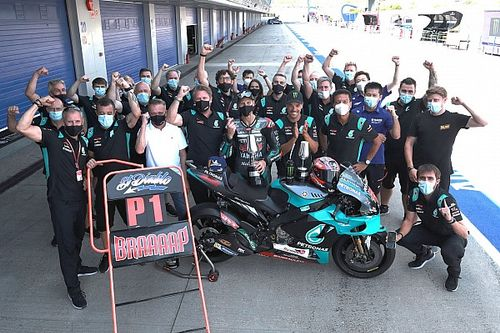 Fotogallery MotoGP: la 'prima volta' di Quartararo a Jerez
