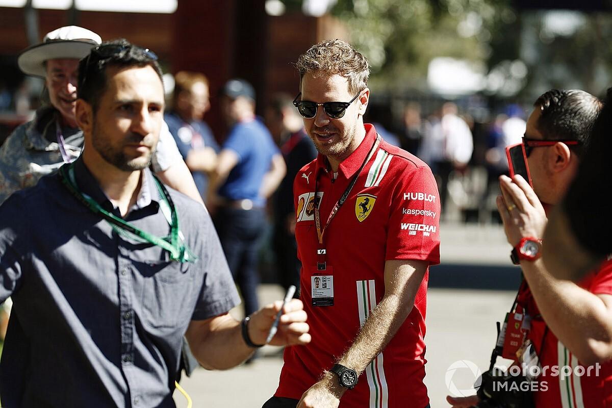 """Vettel: """"Je leert dat de wereld niet om Formule 1 draait"""""""