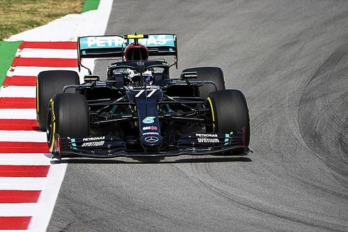 Bottas bovenaan in eerste training Spaanse GP, Verstappen derde
