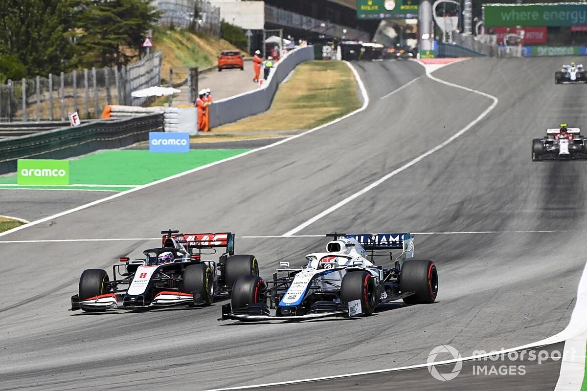 Russell zette 'belangrijke stap' in leerproces bij Spaanse GP
