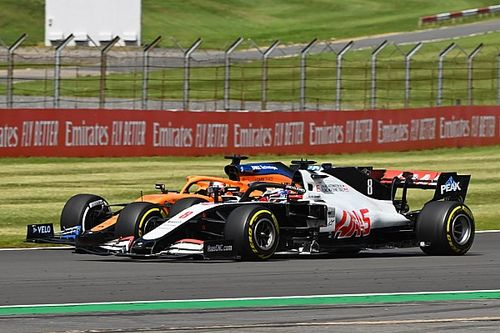 Grosjean: No regrets over defensive driving in British GP
