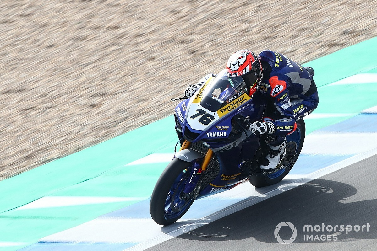 Jerez WSBK: Baz fastest in practice for Ten Kate