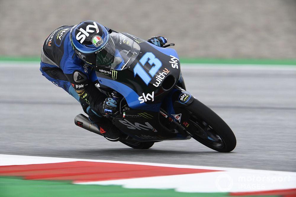 Moto3, Red Bull Ring 3. antrenman: Vietti lider, Deniz 17. oldu