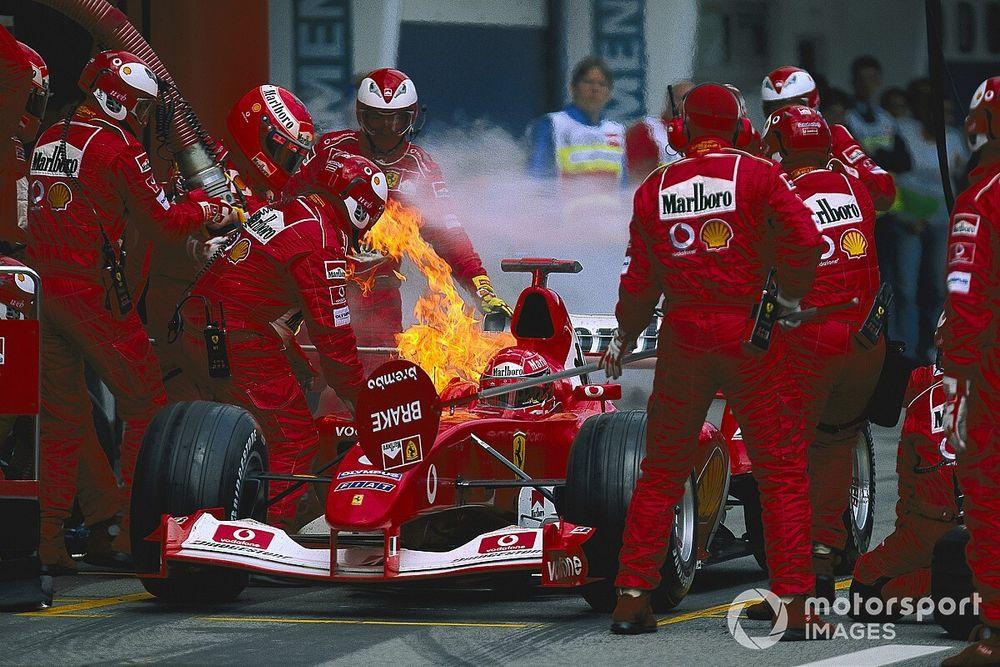 5 elfelejtett pillanat az Osztrák Nagydíjakról: Alesi repülése, Schumacher lángoló autója… (videó)