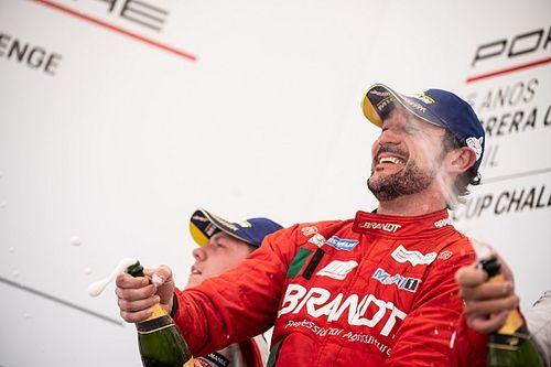 Porsche Carrera Cup: Mesmo soberano, Paludo admite que teve que poupar pneus para vitória