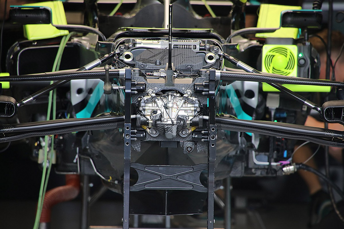 Mercedes F1 team reveals origins of DAS system