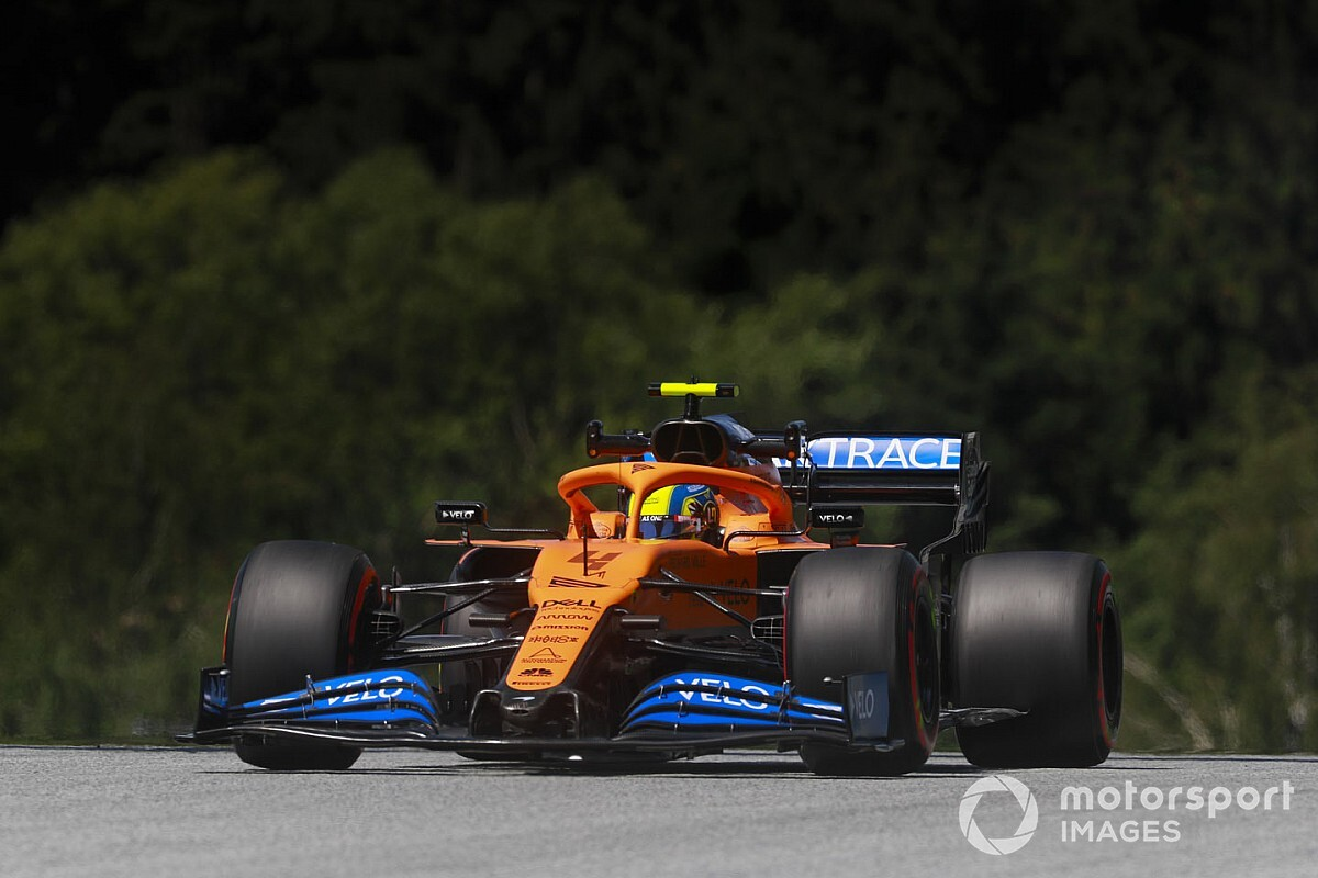 Norris handed grid penalty for yellow flag incident