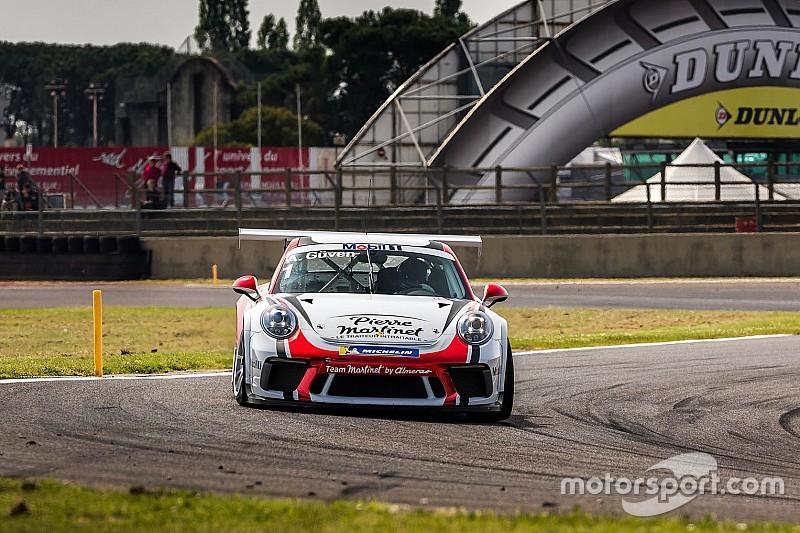 Ayhancan Güven, Porsche Cup Fransa'daki ilk yarışı ikinci bitirdi