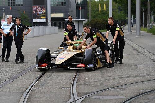 Formel-E-Strecke in Bern von Demonstranten beschädigt