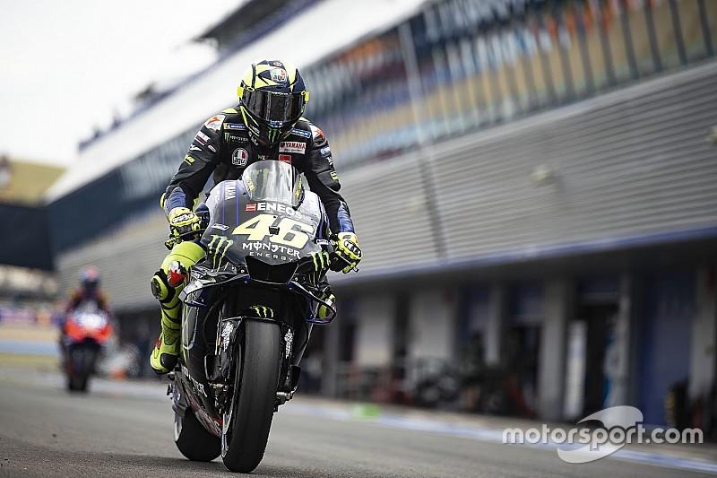 Rossi diz que Yamaha está melhor que em 2018, apesar de dificuldades na Espanha