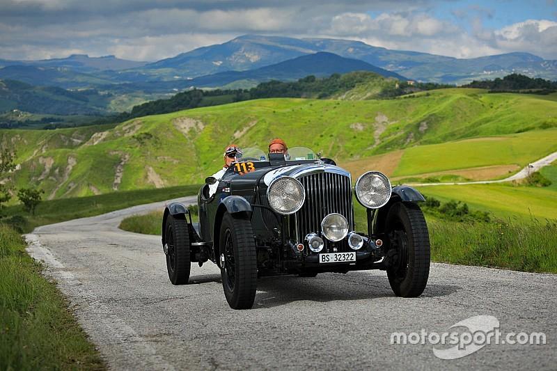 Zmienne warunki na trasie Mille Miglia