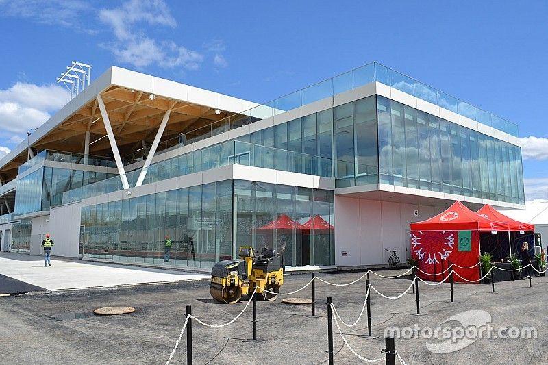 Así luce el nuevo edificio de boxes para el GP de Canadá