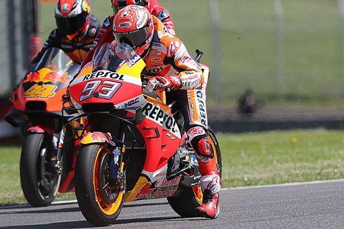 MotoGPイタリアGP予選:マルケスが完璧なラップでポール獲得! ルーキーのクアルタラロは僅差の2番手