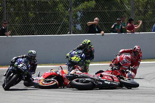 Crash Lorenzo blijft onbestraft, Marquez verdedigt teamgenoot