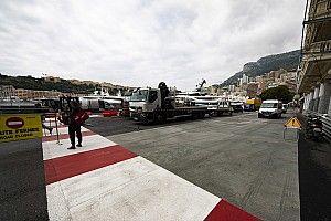 Un revêtement à forte adhérence dans la chicane de Monaco