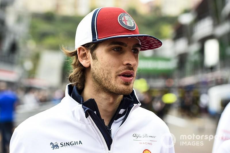 Джовинацци не боится потерять место в Alfa Romeo из-за нуля очков