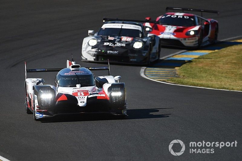Le Mans test day: Buemi keeps #8 Toyota on top