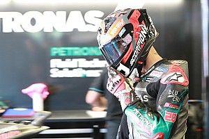 Quartararo snelste in eerste sessie Dutch TT, flinke crash Lorenzo