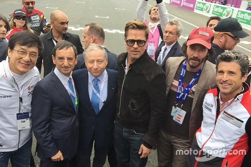 GALERIA: Astros de Hollywood e outras estrelas das 24 Horas de Le Mans