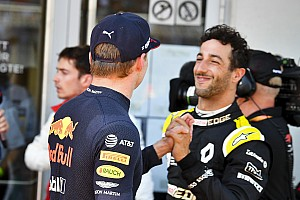 Ricciardo félicite Red Bull pour ses performances