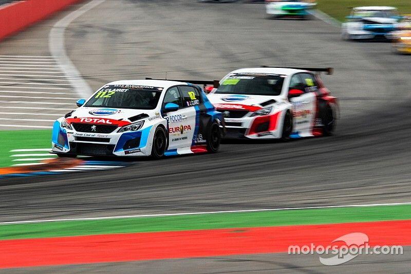 Il Team Clairet Sport con tre Peugeot in TCR Europe nel 2020