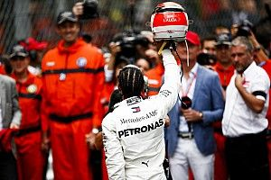 """Hamilton: """"Je savais que ce serait le crash ou l'arrivée"""""""