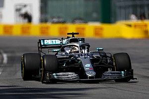 Mercedes tenía dudas de que Hamilton pudiera finalizar en Canadá