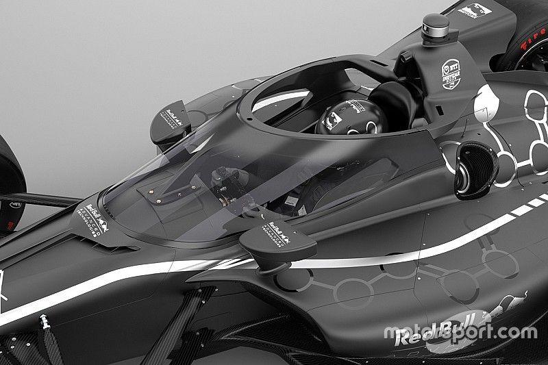 Red Bull разработает систему «аэроскрин» для IndyCar