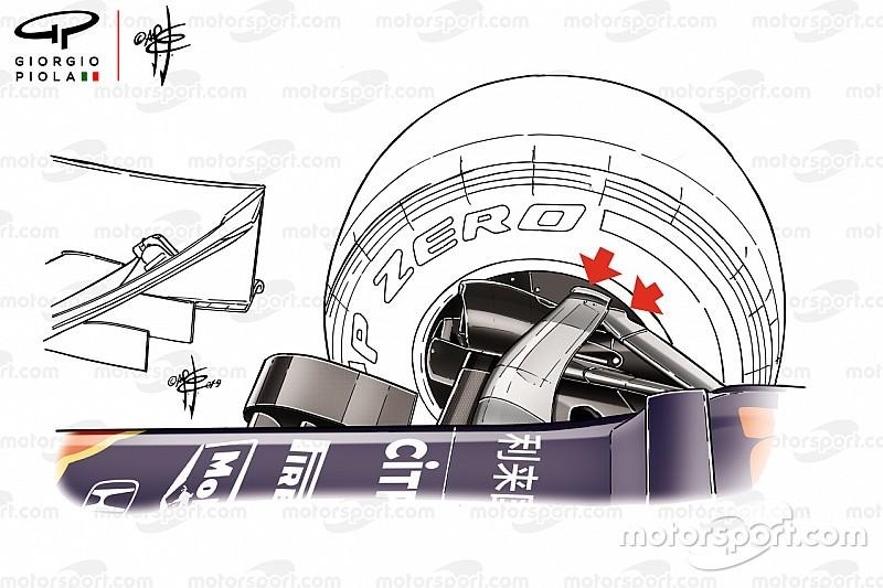 Rivoluzione Red Bull: la sospensione anteriore della RB15 è un sistema multilink