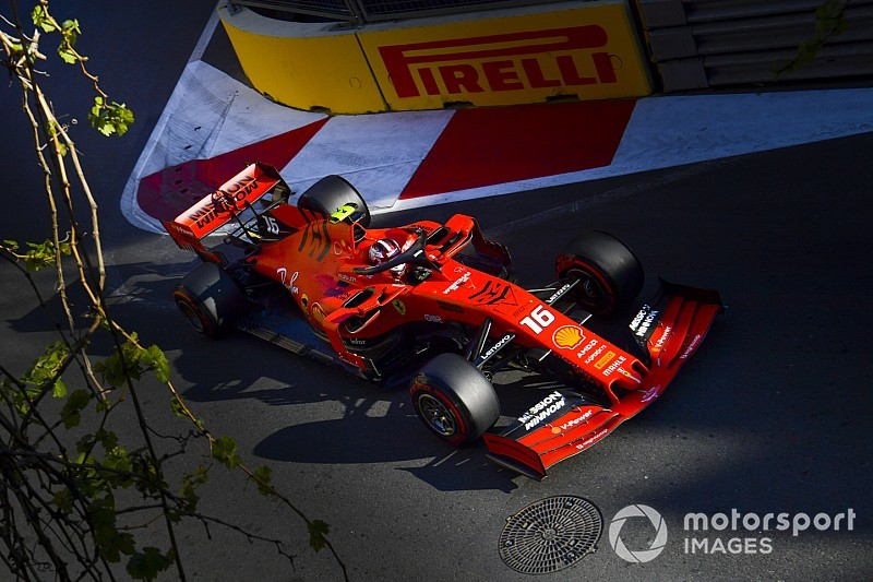 Azerbaijan GP: Leclerc leads commanding Ferrari 1-2 in FP3