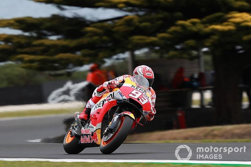 FP3 MotoGP Australia: Marquez ungguli Vinales, Syahrin Q2