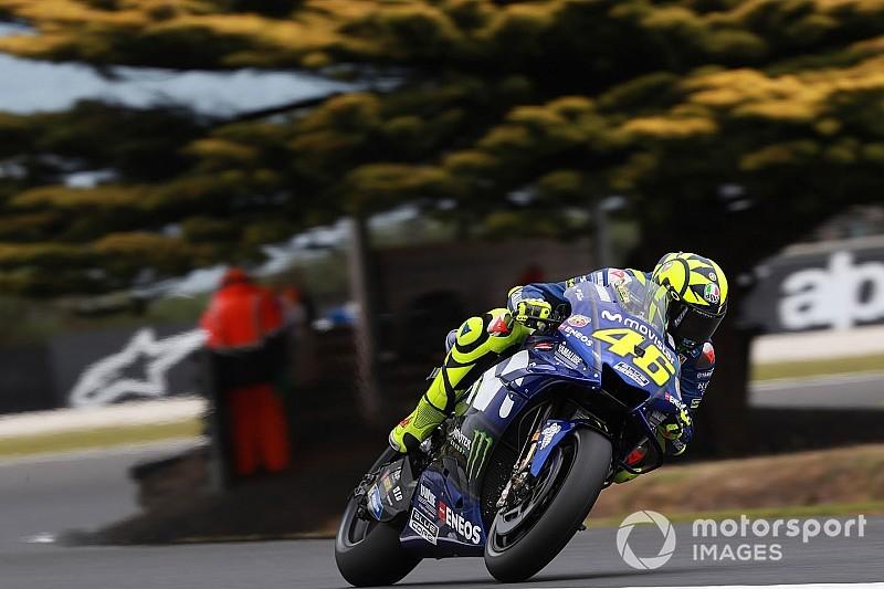"""Valentino Rossi liebäugelt mit Australien-Podest: Startplatz sieben """"kein Desaster"""""""